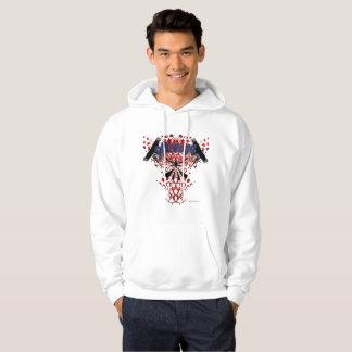 Le sweat - shirt à capuche des hommes de CrowZ