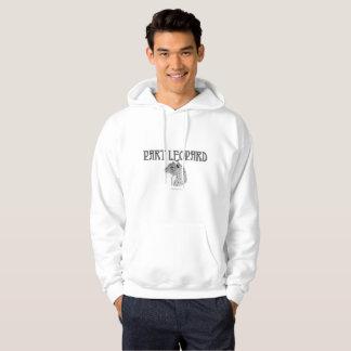 Le sweat - shirt à capuche des hommes de léopard