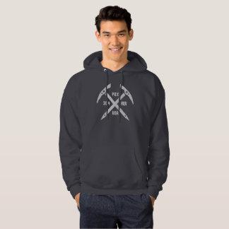 Le sweat - shirt à capuche des hommes de PDX