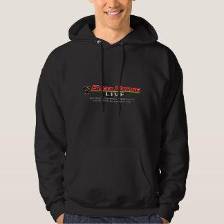Le sweat - shirt à capuche des hommes VIVANTS de