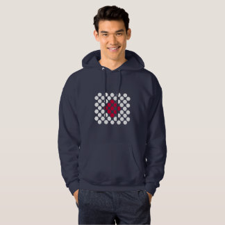 Le sweat - shirt à capuche minimaliste d'hommes de