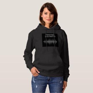 Le sweat - shirt à capuche paranormal des femmes