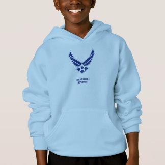 Le sweat shirt du garçon dépendant de l'U.S. Air