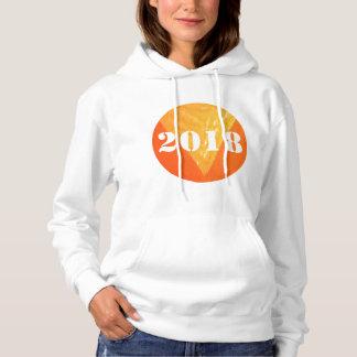 Le sweatshirt à capuchon de base de 2018 femmes