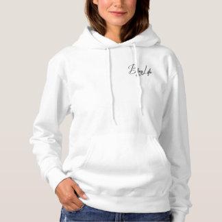 Le sweatshirt à capuchon de base des femmes de la