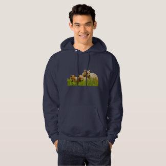 Le sweatshirt à capuchon de base des hommes avec