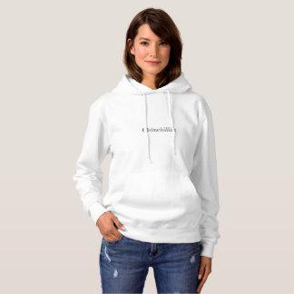 Le sweatshirt à capuchon des femmes de Chinchillin