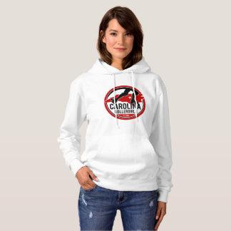 Le sweatshirt à capuchon des femmes de la Caroline