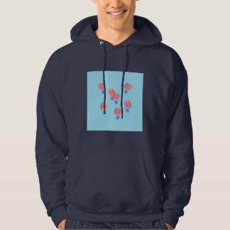 Le sweatshirt à capuchon des hommes de ballons à