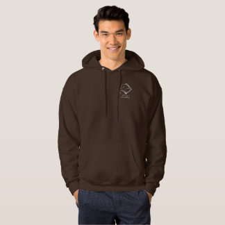 Le sweatshirt à capuchon des hommes de Gallois