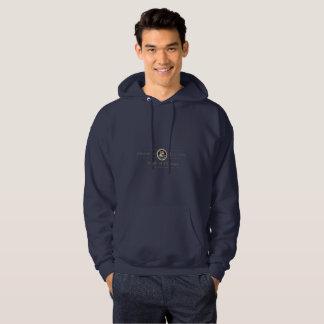 Le sweatshirt à capuchon des hommes d'université