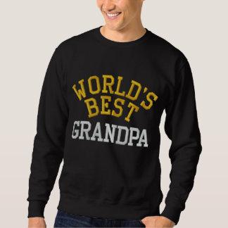 Le sweatshirt brodé le meilleur par grand-papa du