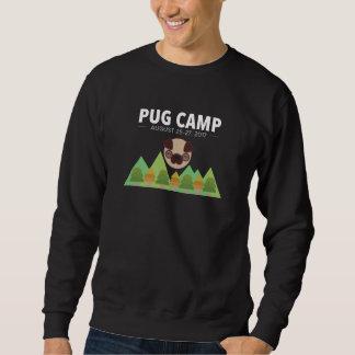 Le sweatshirt coloré par obscurité des hommes de