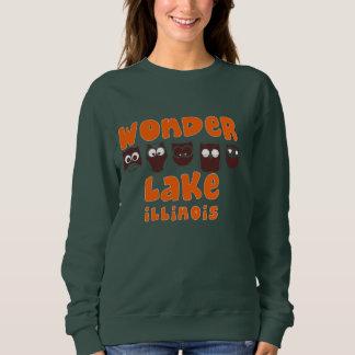Le sweatshirt de base des femmes de hibou de huée