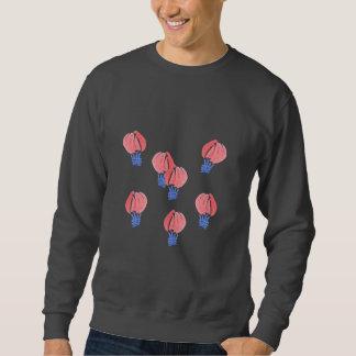 Le sweatshirt de base des hommes de ballons à air