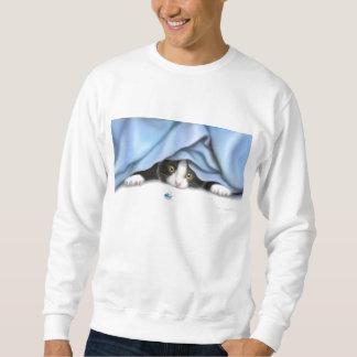 Le sweatshirt de chat de chasseur d'insecte