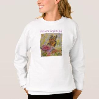 Le sweatshirt de la fille d'art d'inspiration de