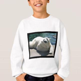 Le sweatshirt de l'enfant arctique d'ours blanc