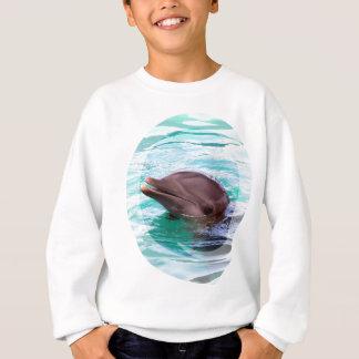 Le sweatshirt de l'enfant de conception de dauphin