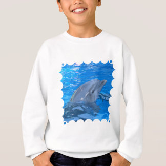 Le sweatshirt de l'enfant de dauphin de Bottlenose