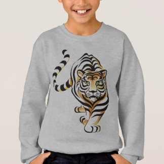 Le sweatshirt de l'enfant de marche de tigre de