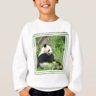 Le sweatshirt de l'enfant de panda