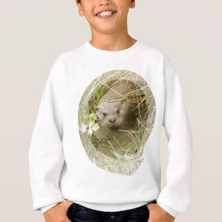 Le sweatshirt de l'enfant d'habitat de loutre de