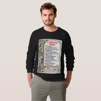 Le sweatshirt de l'homme de prière de Noël (Donald