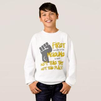 Le sweatshirt de non ce garçon d'endroit
