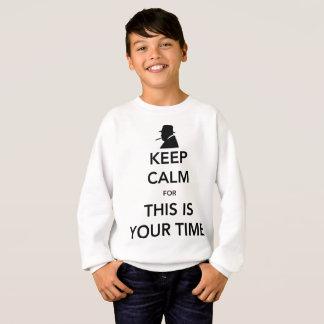 Le sweatshirt de votre garçon de temps