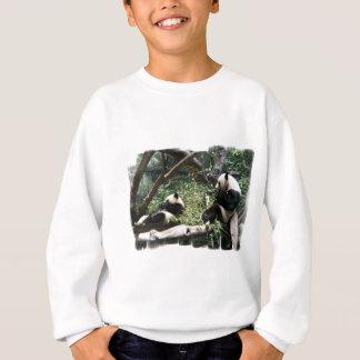 Le sweatshirt des enfants d'ours panda