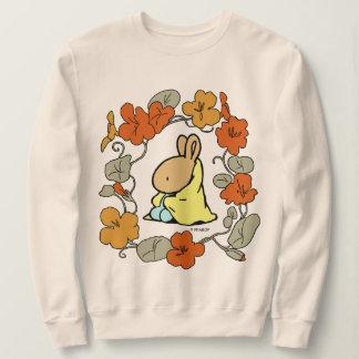 Le sweatshirt des femmes couvrantes de lapin