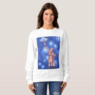 Le sweatshirt des femmes de Chanukah Vulcan