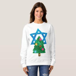 le sweatshirt des femmes de hanoukka de