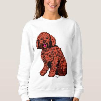 Le sweatshirt des femmes de Labradoodle