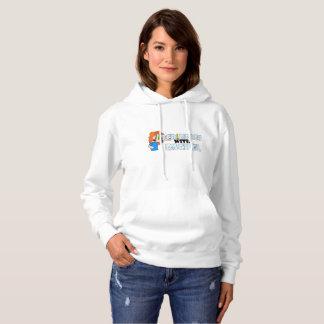 Le sweatshirt des femmes de logo de