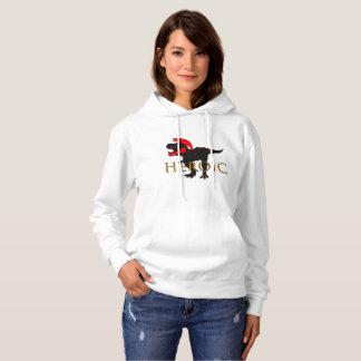 Le sweatshirt des femmes HÉROÏQUES de Rex de