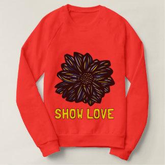 """Le sweatshirt des femmes """"montrez amour"""""""