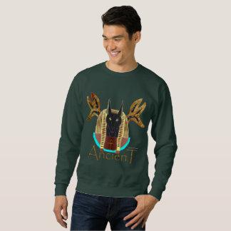 Le sweatshirt des hommes antiques d'Anubis