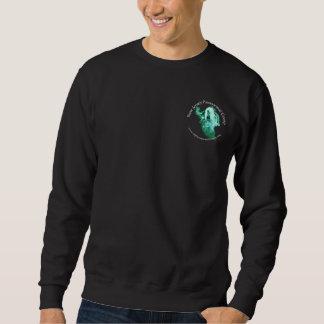 Le sweatshirt des hommes avec l'avant et les logos