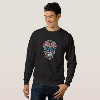 le sweatshirt des hommes de crâne de sucre de