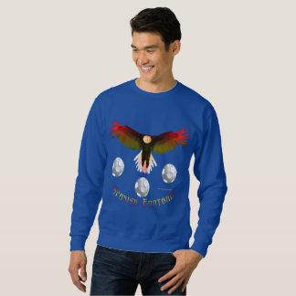 Le sweatshirt des hommes d'Eagle du football de
