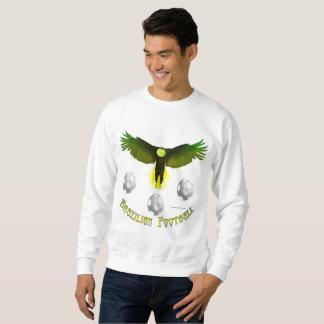 Le sweatshirt des hommes d'Eagle du football du