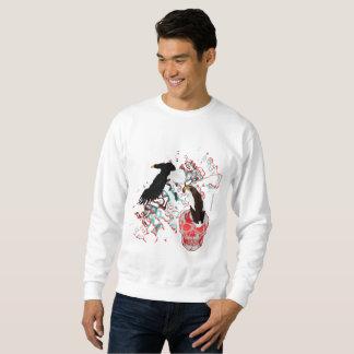 Le sweatshirt des hommes d'Eagles de mer