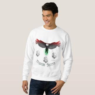 Le sweatshirt du football des hommes mexicains