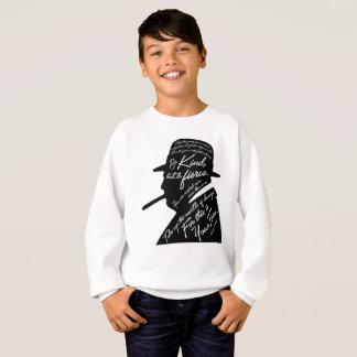 Le sweatshirt du garçon de Churchill