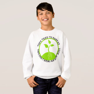 Le sweatshirt du garçon de graines