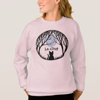 Le sweatshirt du gros enfant de chat de chemises