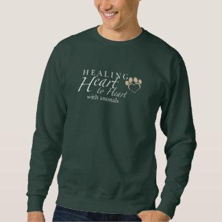 Le sweatshirt foncé des hommes