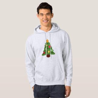 le sweatshirt hoody à capuchon des hommes d'emojis